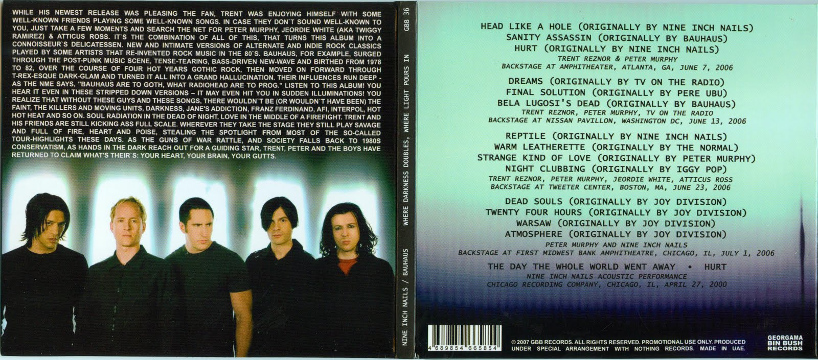 Willy\'s rock: NINE INCH NAILS FEAT. PETER MURPHY / Where Darkness ...