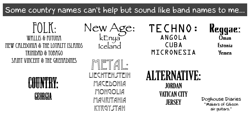 How to name a music band 90