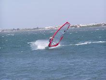 Hi wind jibe lagoon