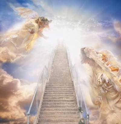 angel flying up to heaven - photo #7