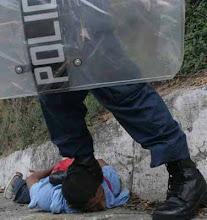 NO MAS REPRESION A NUESTROS PUEBLOS!!!