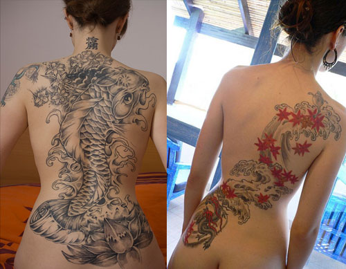 Beautiful Japanese Tattoos