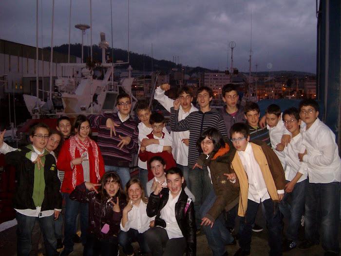 No porto de Burela