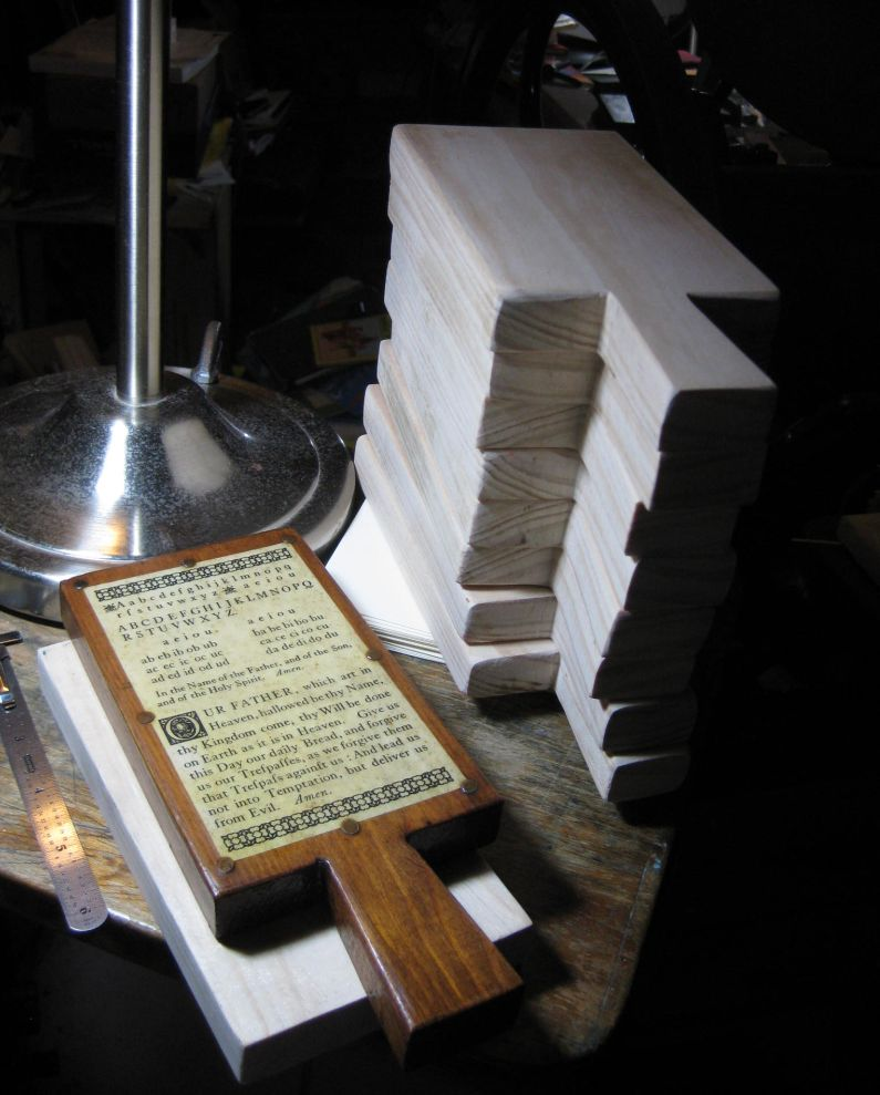 How To Make A Hornbook