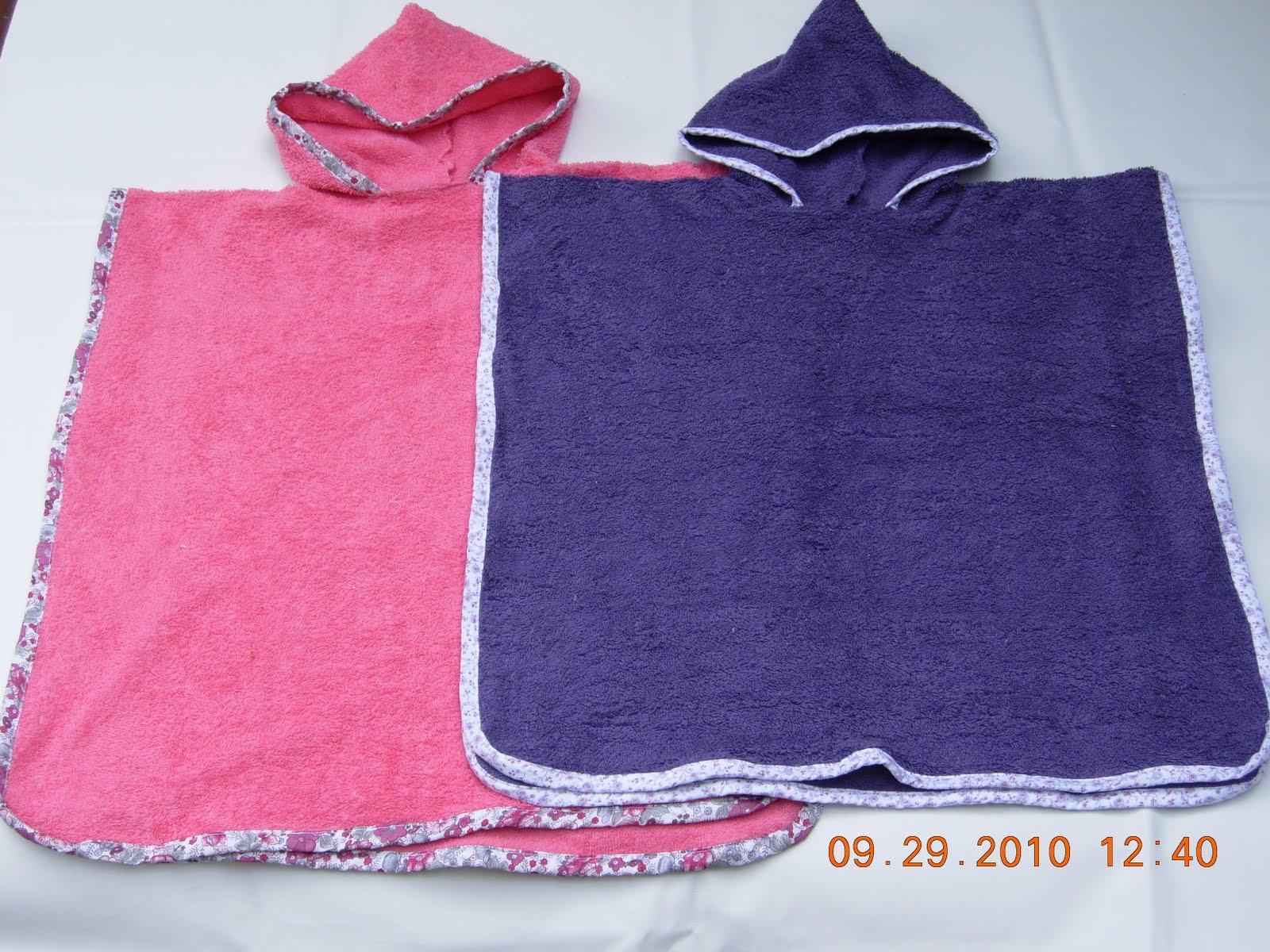 Poncho Baño Infantil:poncho y bata infantil para salir del mar o la pileta los ponchos