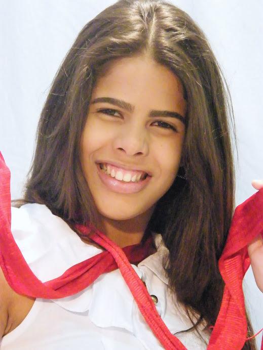 Giovanna Pinho, super expressiva, linda!