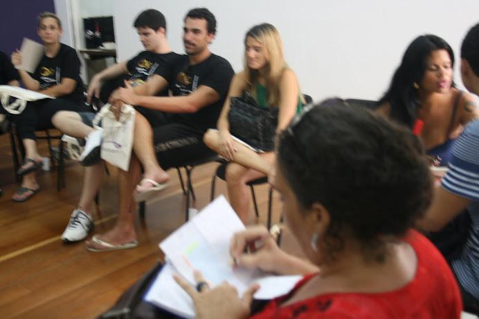 Alunos da CAP ESCLA DE TV E CINEMA no Rio de Janeiro
