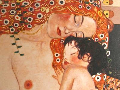 la maternitat Gustav Klimt