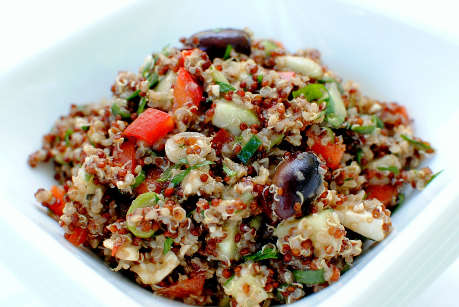 The Church Cook: Quinoa Salad with Cucumbers and Feta (The Spirit of ...