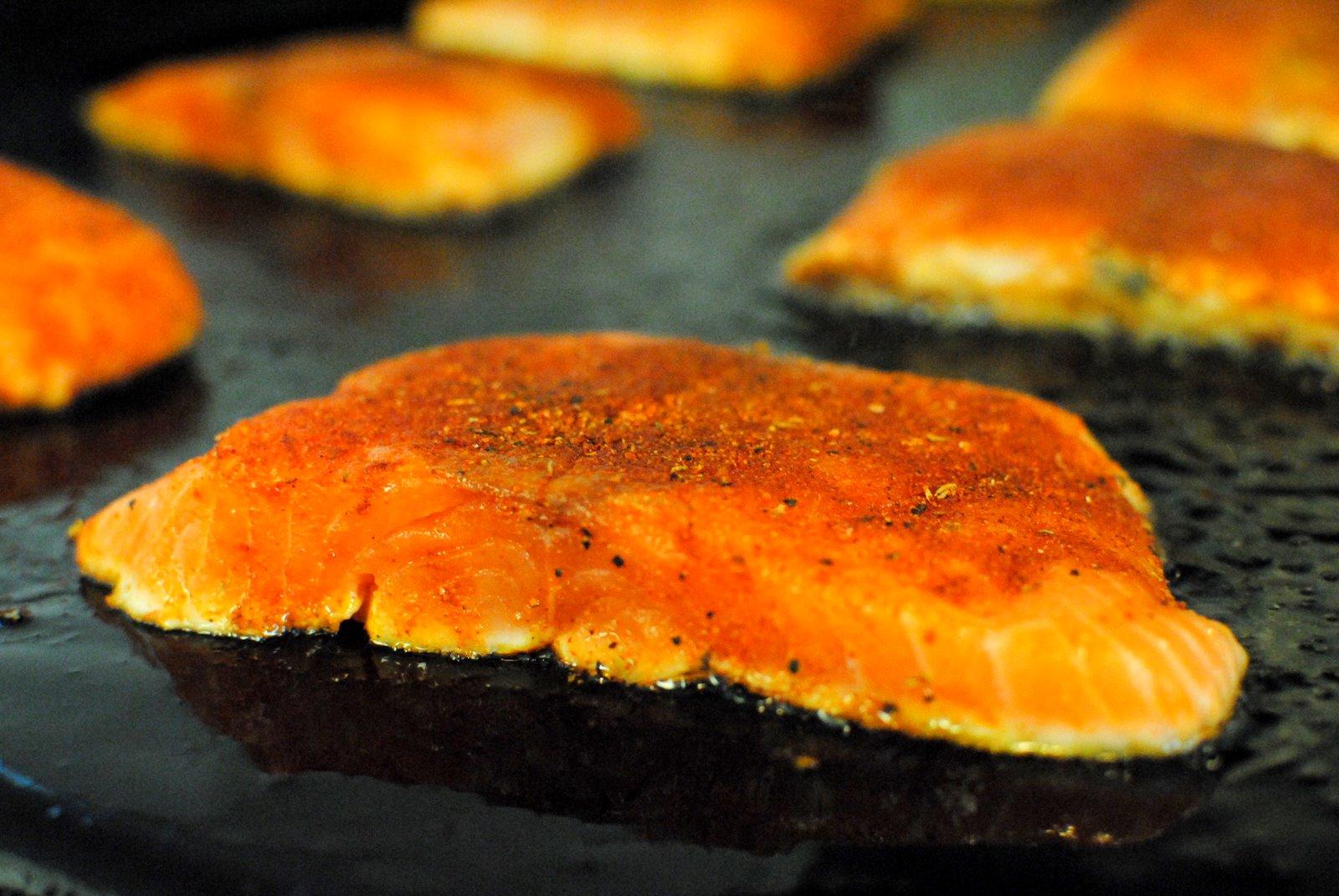 The Church Cook: Blackened Salmon Sandwich
