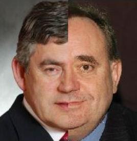 when Gordon Brown met Alex Salmond
