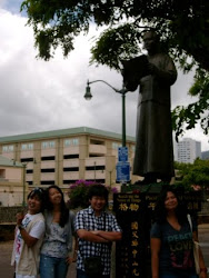 In front of Sun Yat Sen Statue