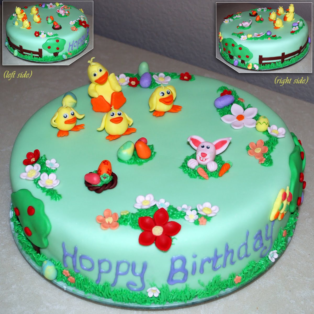Easter Birthday Cake Sugar Sweet Cakes And Treats