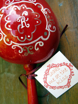 January 25th 2011 at 1206 am handpainted maracas mexican wedding favors