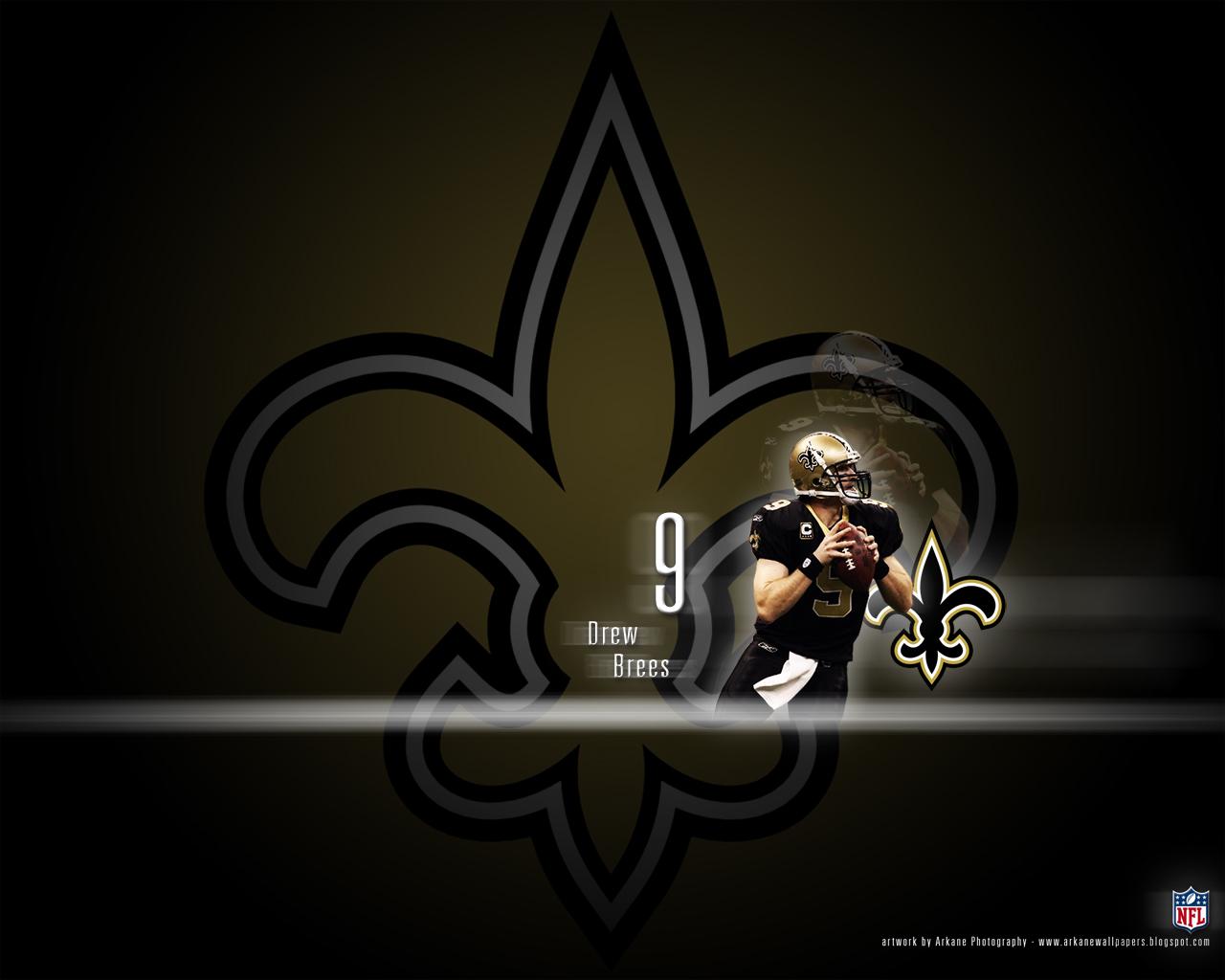 Arkane Nfl Wallpapers Drew Brees New Orleans Saints