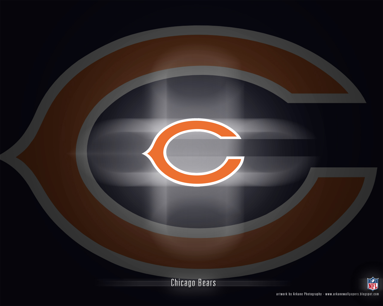 Arkane Nfl Wallpapers Chicago Bears Vol 1