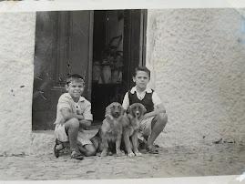 1947 - Angola, com o irmão