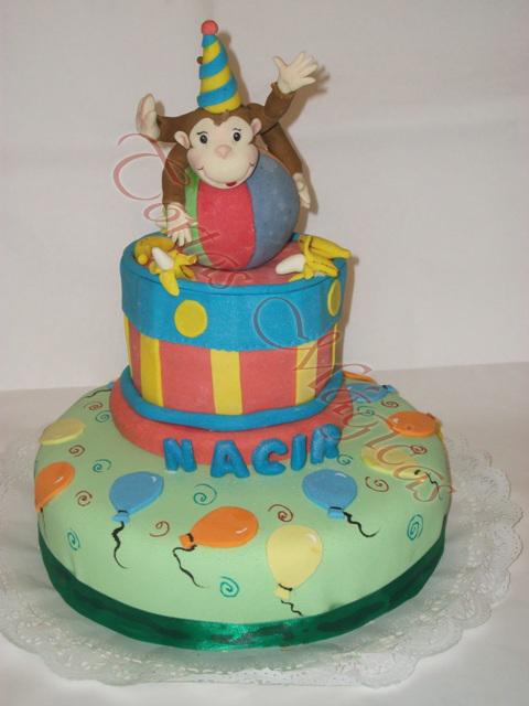 Tortas de jorge el curioso holidays oo for Decoracion de tortas infantiles