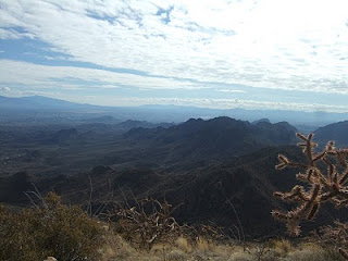 Views from Wasson Peak in Tucson