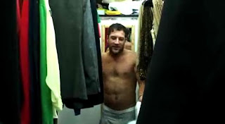 Matt Cardle shirtless