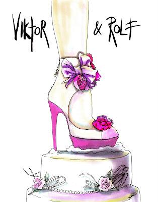 Achraf Amiri, Achraf Amiri ilustração, Achraf Amiri ilustrador, ilustração moda, desenho moda, ilustração sapato Viktor & Rolf