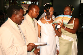 ROSE AKILA KIAPO KANISANI/ ROSE TAKING THE VOW AT CHURCH