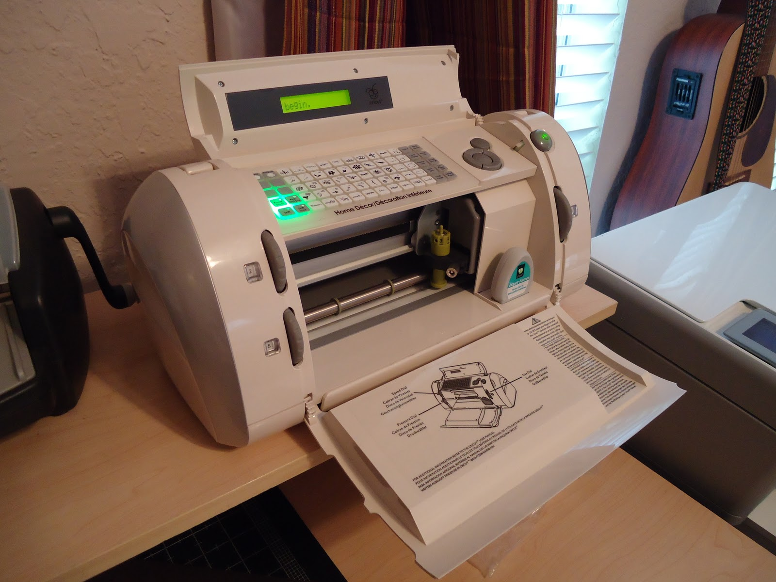 cricut stencil machine