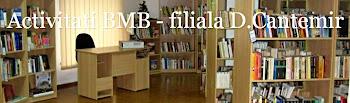 Activitati Biblioteca Metropolitana Bucuresti Filiala Dimitrie Cantemir