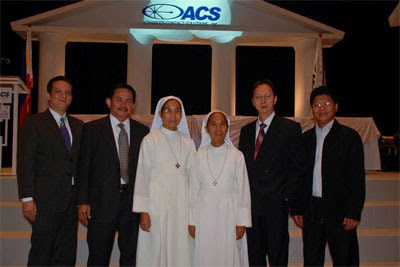 ACS and Sisters of Mary School