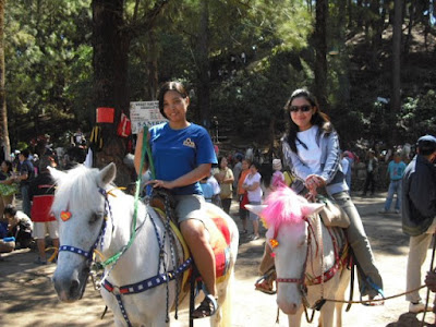 Wright Park Horseback riding baguio city