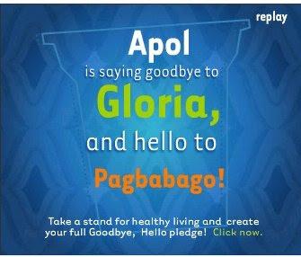 Goodbye Gloria, Hello Pagbabago!