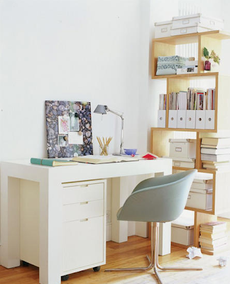 belle maison: creative home office inspiration
