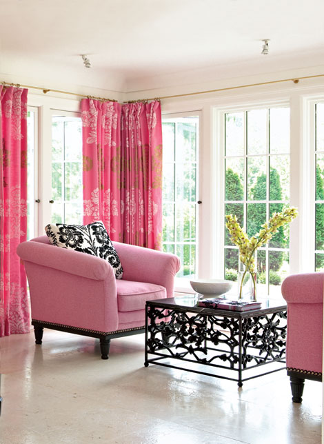 belle maison: Window Treatment Ideas: Side Panels