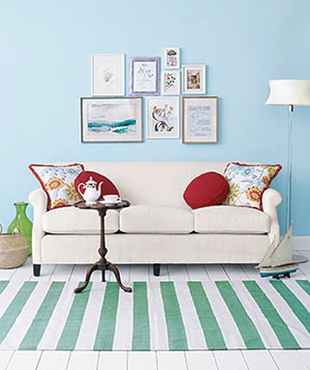 Sofa pillows+ idea b