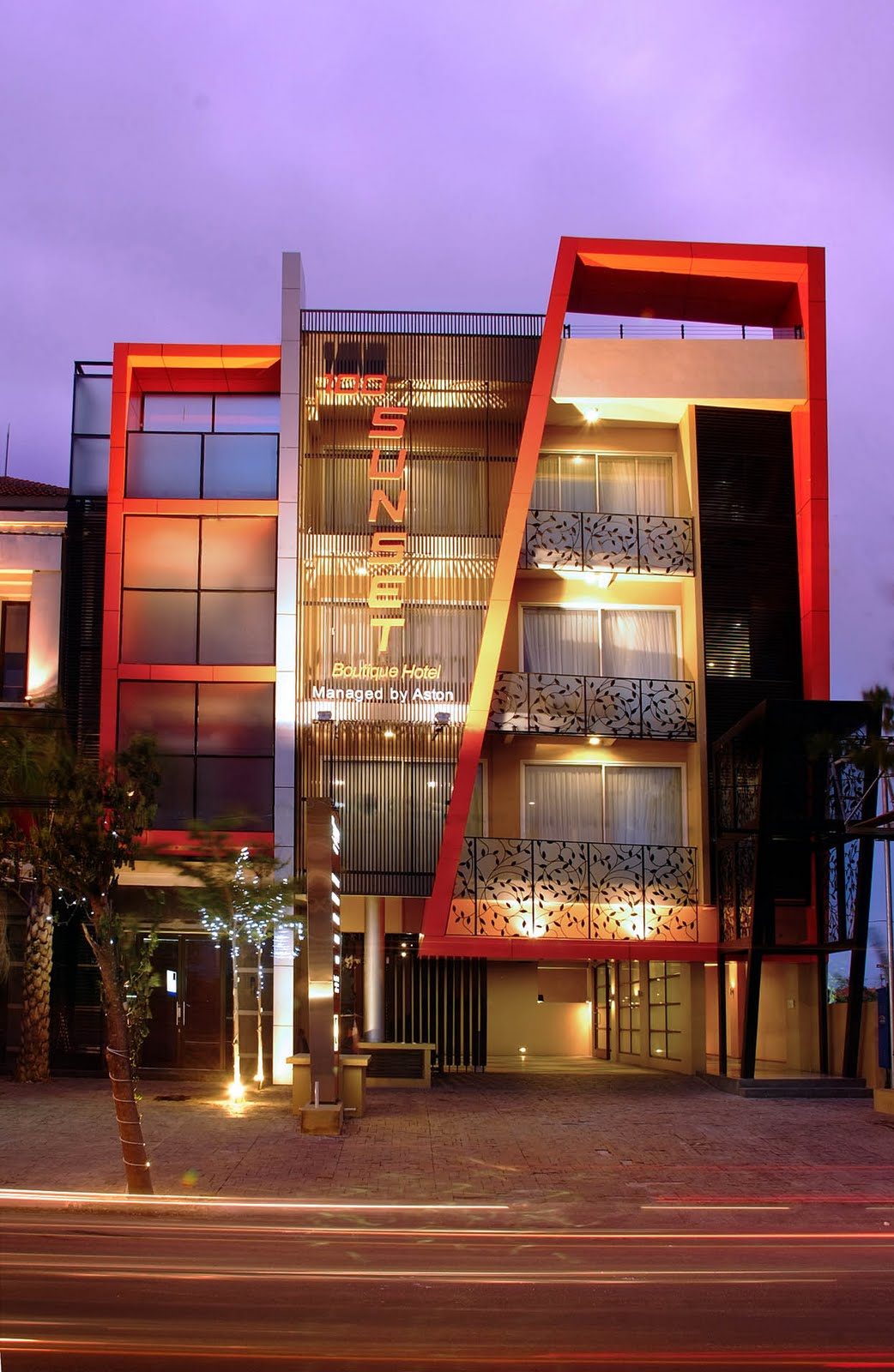 100 sunset boutique hotel managed by aston for Design boutique hotel