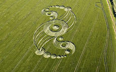 Crop Circle via man or aliens?