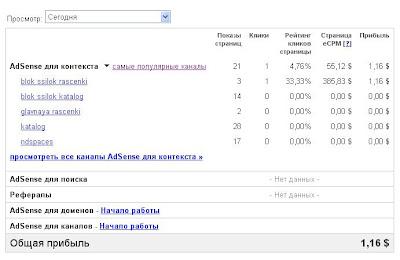 Заработок в Интернет. Заработок на контекстной рекламе. Заработок с адсенс. Статистика заработка в Гугл адсенс.