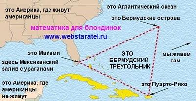 Бермудский треугольник фото. Тайна Бермудского треугольника. Бермудский треугольник на карте. Математика для блондинок. Николай Хижняк.