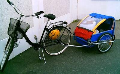 cykelvagn biltema