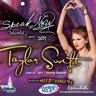 Taylor Swift Posters Target on Untouchable  Taylor Swift Speak Now 2011 Tour Poster