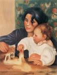 Jean Renoir e Gabrielle