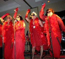 The Chillettes on Stage