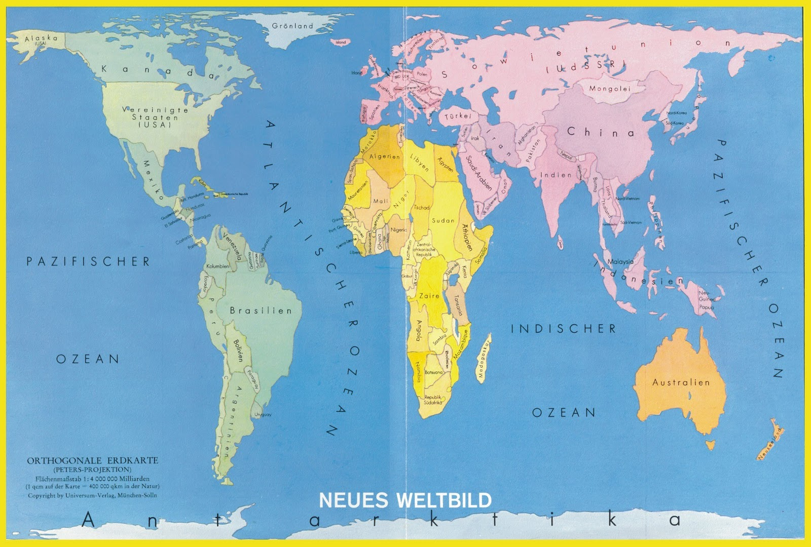 Image Peters World Map Download