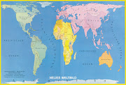 Mapa del mundo mapamundi paises