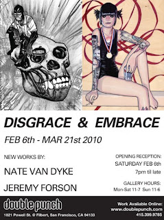 Jeremy Forson, Gallery Showings, Double Punch