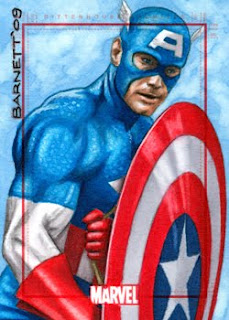 Scott Barnett, Card Design, Captain America