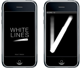Kyle T. Webster, iPhone, Program Design, White Lines