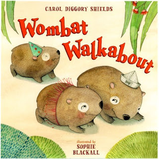 Sophie Blackall, Wombat Walkabout,Children's Books,