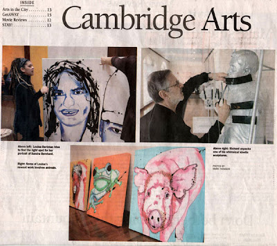Louisa Bertman, Cambridge Chronicle, Cambridge Art Association