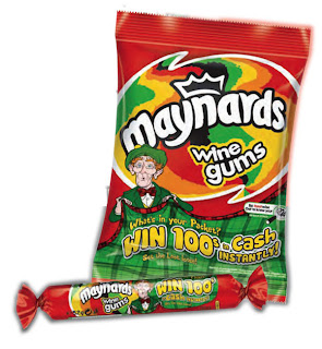 Pete Ellis, Packaging, Posters, Maynard's Wine Gums